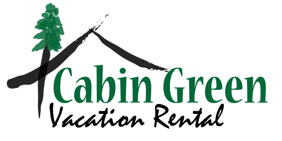 Awesome Cabin Green Vacation Rentals Logo